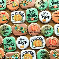 Thanksgiving Theme Cookies