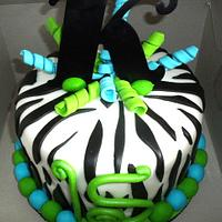 Zebra Birthday