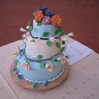 Floral cake by Valeria Antipatico