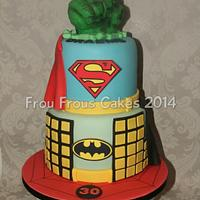 Frou Frous Cakes Take on the Superhero Cake