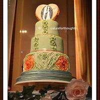Minty Peach Love by Cakes For Thoughts