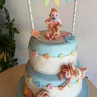 Cake Baptism  by Sabrina Di Clemente