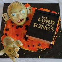 Lord of the rings - Gollum cake