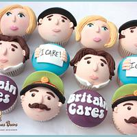 Stephen Fry 'Character' Cupcakes