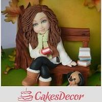 autumn cake ..Im Speechless....I can't believe that..thank you so much to all of you <3<3