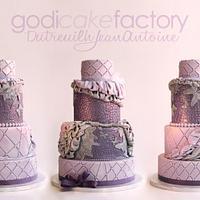 Fashion Purple Butterflies by Dutreuilh Jean-Antoine