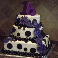 Sweet 16 - Purple Daisies