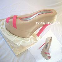 3D Platform Stiletto Cake