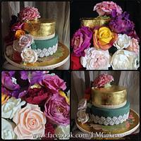 Grandma's 80th Birthday cake!