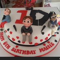The One Direction Cake