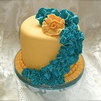Ruffle cake by Vanessa