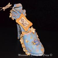 Alice in Wonderland inspired Sugar Shoe