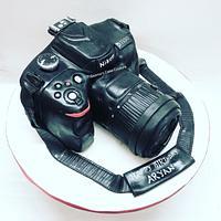 Nikon Camera Cake!  by Seema Tyagi