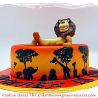 On Safari With Alex The Madagascar Lion!