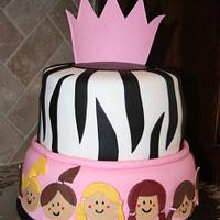 Soccer zebra cake by Cathy Moilan