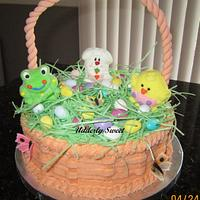 Easter Basket Cake by Michelle