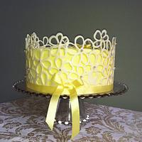 My Cake School's cake