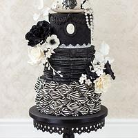 Victorian Gothic chic tea party