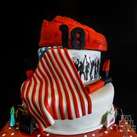 Sweet 18-cake with a story