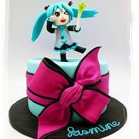 """Kawaii """"Po Pi Po"""" Hatsune Miku For Jasmine!"""