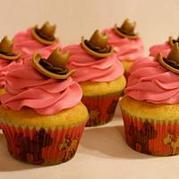 Cowgirl Cupcakes by Bakermama
