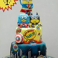 Superhero Minion's