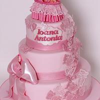 Antonia christening cake