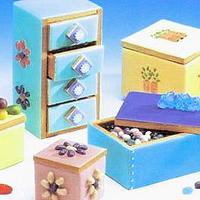 Edible 3D Cookie Boxes & Chest by Vivi Ciak