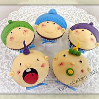 Baby Shower Assorted Cupcakes