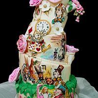 Alice in Wonderland-themed Wedding