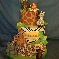 Jungle themed First Birthday