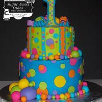 Colorful Dots, Stripes, & Balls