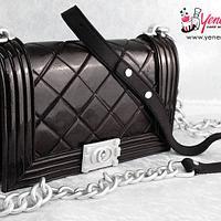 3D Designer Handbag Cake