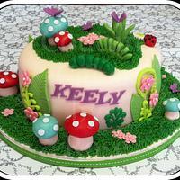 Ms Keely's Garden Cake