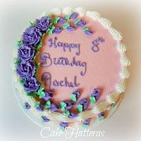 A simple birthday cake