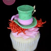 Johnny Depp inspired Mad Hatter Cupcakes w/Tutorial