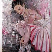 Balerina painting