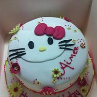 hello kitty by PetiteSweet-Cake Boutique