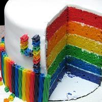Ella's Rainbow Cake