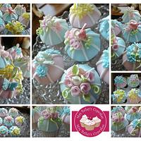 Vintage Birdcage Cupcakes
