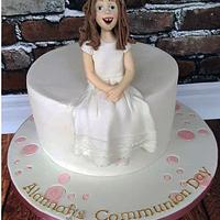 Alannah - Communion Cake