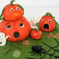 3D Halloween Cake