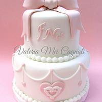 Very romantic mini cake...