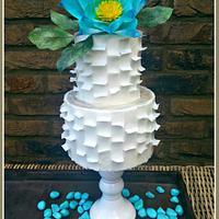 Wafer paper fantasy flower