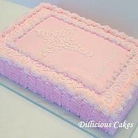 Lyndi Kate's  Dedication Cake