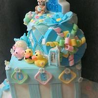 birthday cake by SaSaBakery
