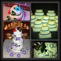 Theme Cakes - weddings, anniversaries, showers and christenings