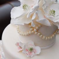 Lace cake by Rebecca