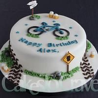 Cycling Pub Tour Cake