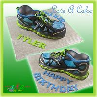New Balance Inspired Shoe Birthday Cake